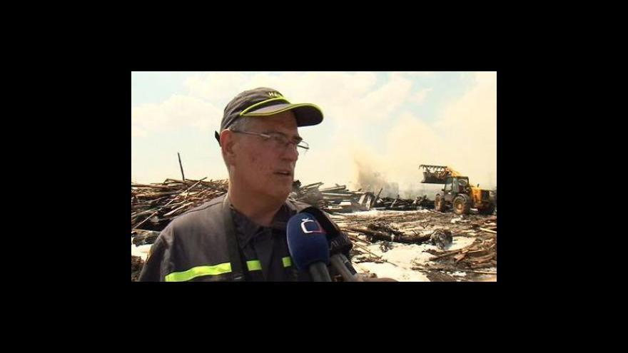 Video Rozhovor s Jaroslavem Haidem, mluvčím HZS Jihomoravského kraje