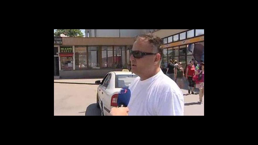 Video Robert Skopal, taxikář