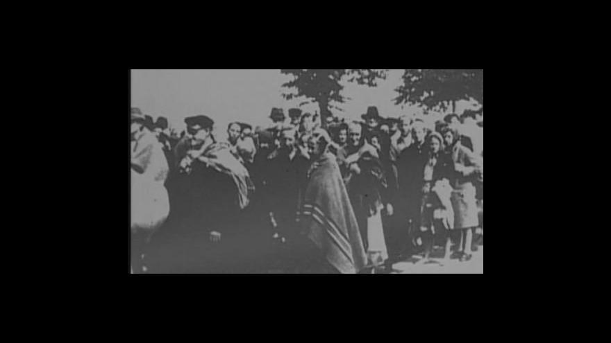 Video Pamětnice Eva Horáková vzpomíná na odsun v roce 1945