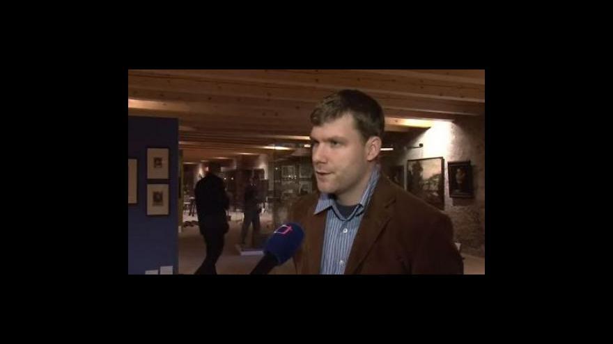 Video Rozhovor s Michalem Konečným, kurátorem výstavy