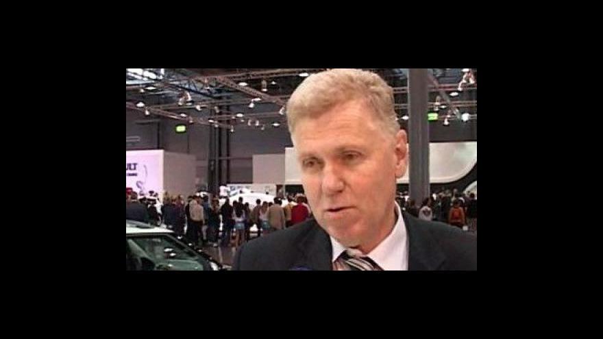 Video ředitel Autotecu a Autosalónu Jiří Čikl