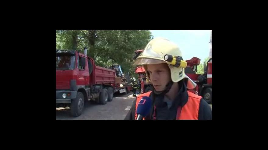 Video Rozhovor s velitelem zásahu Tomášem Krejčím