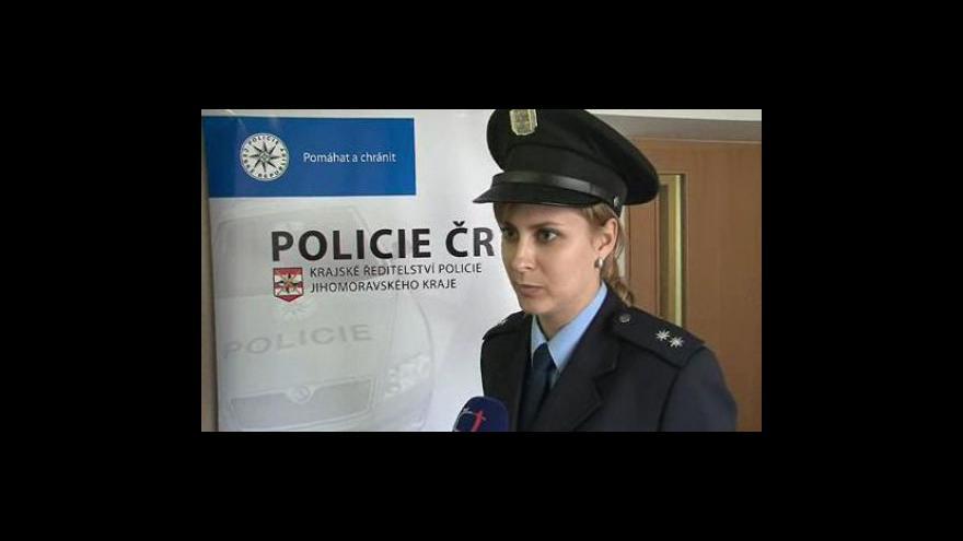 Video Rozhovor s Petrou Vedrovou, mluvčí Policie ČR JMK