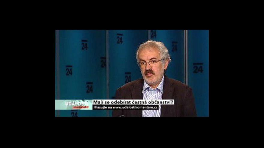 Video Rozhovor s Oldřichem Tůmou