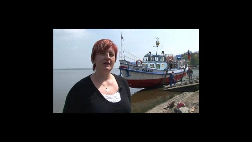 Video Jednatelka Lodní dopravy Břeclav Monika Vintrlíková o plavbách Pálavou