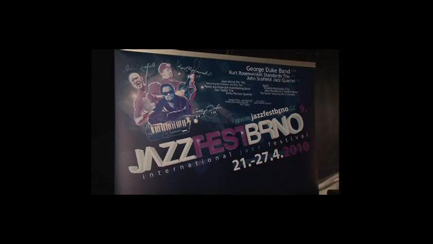 Video Vilém Spilka, dramaturg JAZZFESTBRNO o festivalovém programu