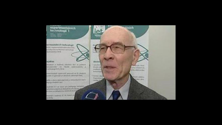Video Pavel Kaláb (Institut experimentálních technologií FEKT VUT v Brně)