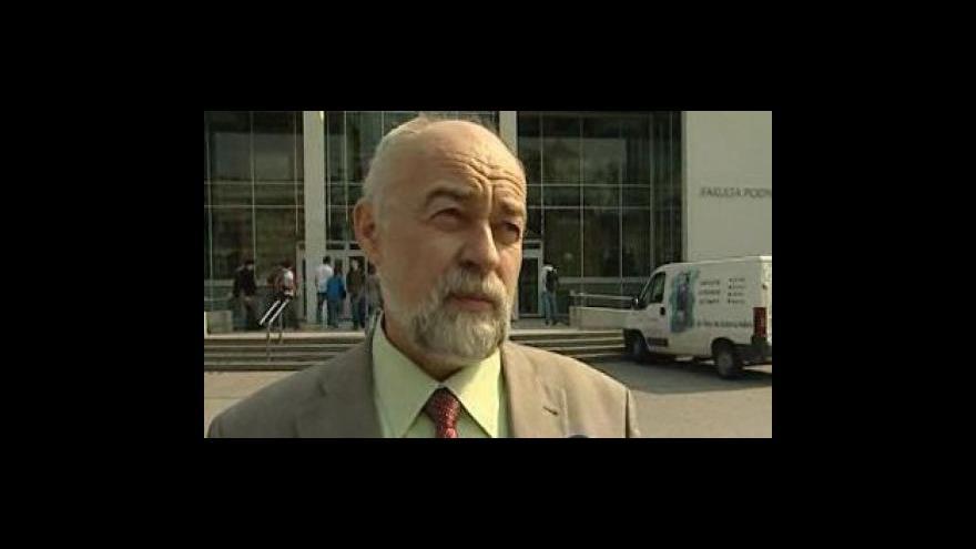 Video Oldřich Rejnuš (ekonom z Fakulty podnikatelské VUT) o třímiliardové půjčce pro Brno