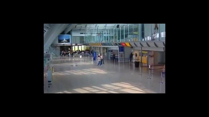 Video Redaktorka Aneta Hronová o situaci na brněnském letišti