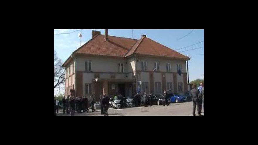 Video Služebna dálniční policie bude na místě, kde dálnice ještě nestojí