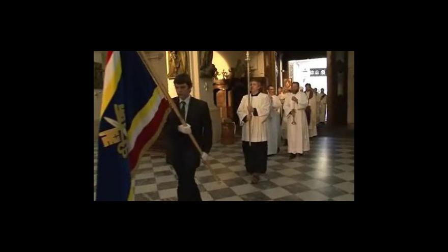 Video Na Petrově se sloužila mše za kardinála Tomáše Špidlíka
