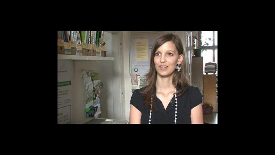 Video Organizátorka Petra Veselá k soutěži