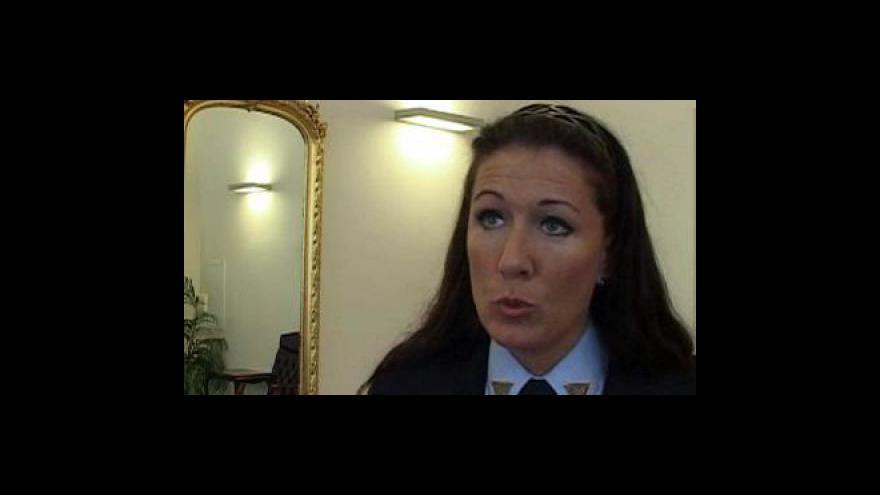 Video Denisa Kapitánčiková, mluvčí policie, k seniorskému kurzu