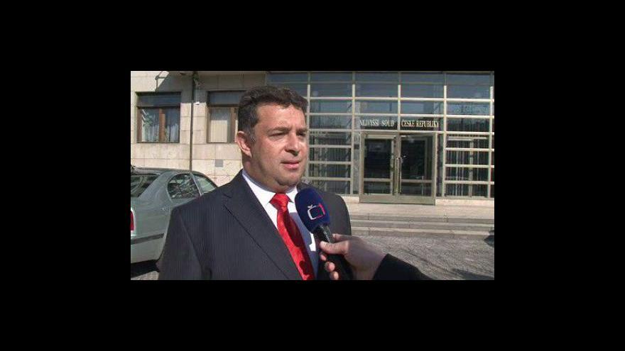 Video Mluvčí Nejvyššího soudu ČR Petr Knötig