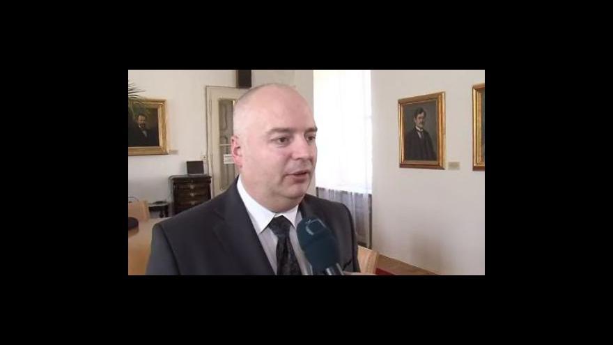 Video náměstek primátora Oliver Pospíšil (ČSSD) o narušené statice Staré radnice