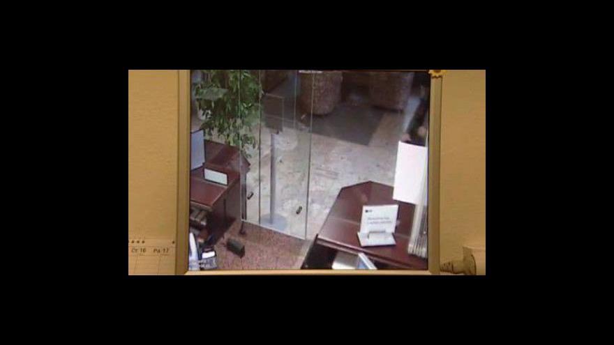 Video Záběry z bezpečnostních kamer