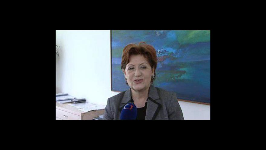 Video Zlínská primátorka Irena Ondrová(ODS)