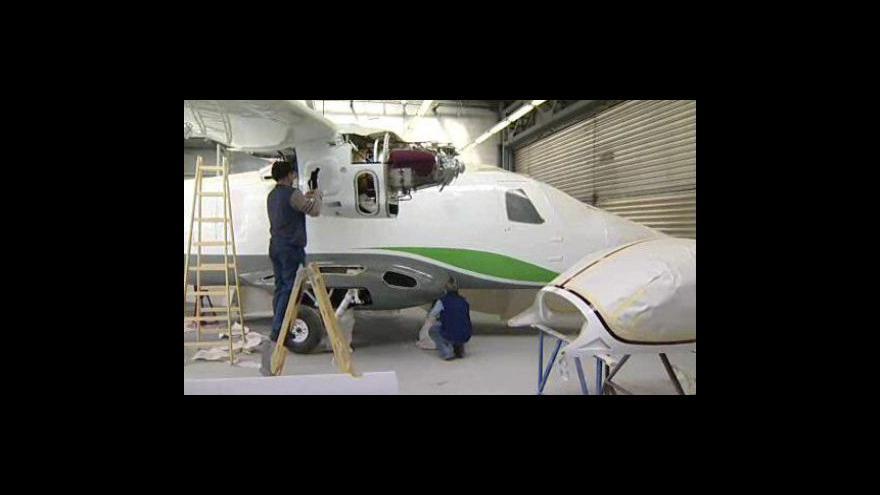 Video V Kunovicích představili nové dopravní letadlo