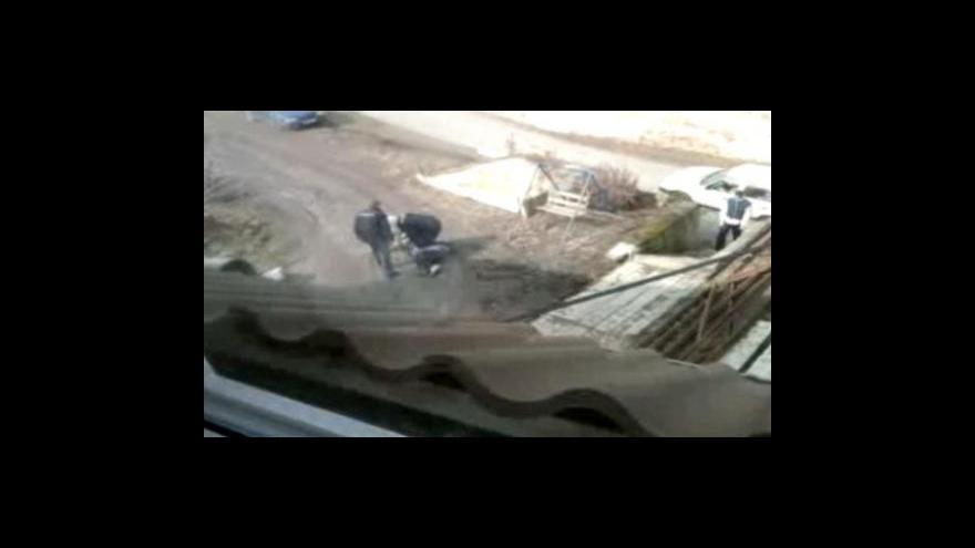 Video Amatérské záběry svědka Tomáše Štrycha