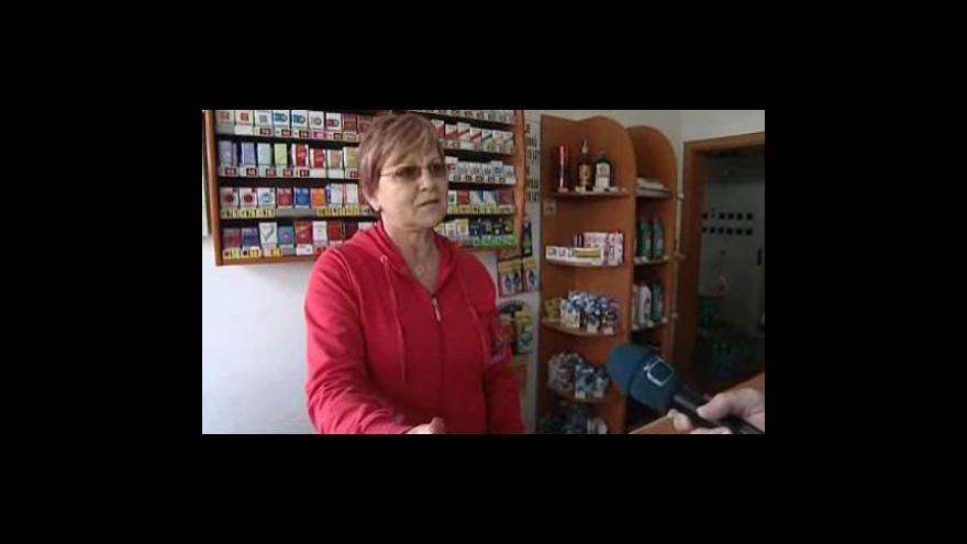 Video Rozhovor s kolegyní přepadené pokladní