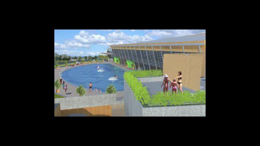 Video Reportáž Evy Lípové o projektu lázeňského areálu