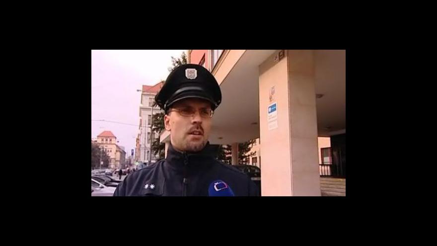 Video Policejní mluvčí Pavel Šváb popisuje přepadení banky