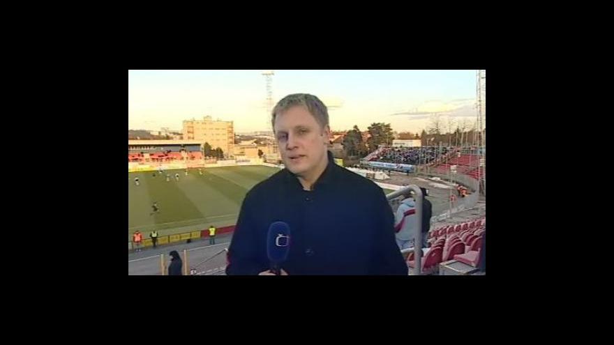 Video Živý vstup Ondřeje Schneidera ze stadionu v 17:00