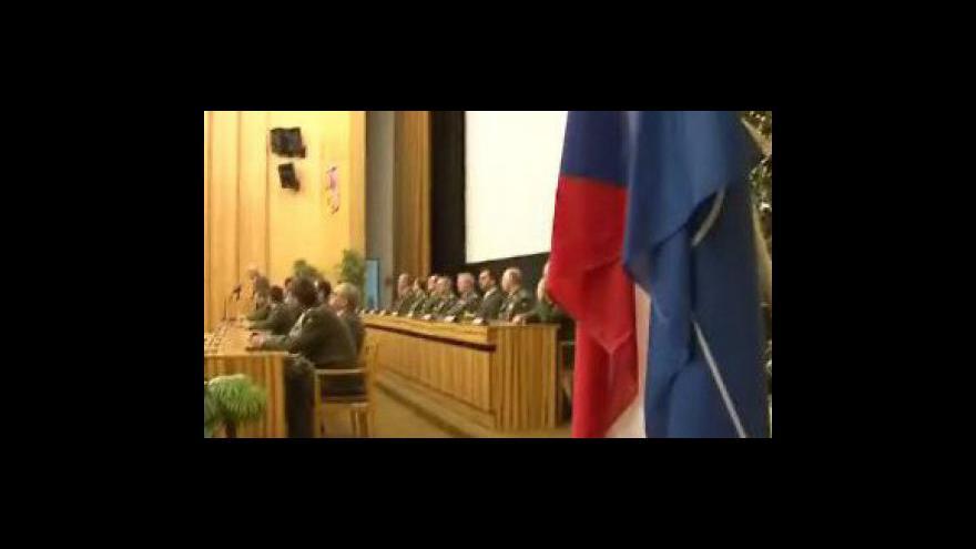 Video Jeden z vyznamenaných vojáků Martin Janeček