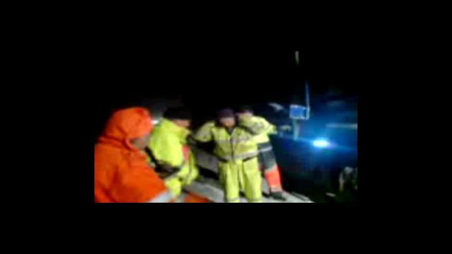 Video Nehoda na D1 u Velkého Meziříčí (záběry z mobilního telefonu)