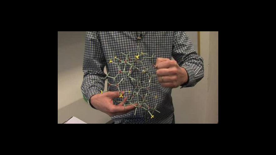 Video Vladimír Šindelář z Ústavu chemie Přírodovědecké fakulty Masarykovy univerzity