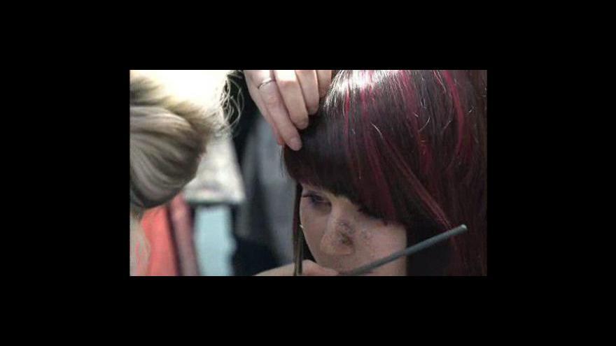 Video Mladé kadeřnice soutěžily na brněnském výstavišti