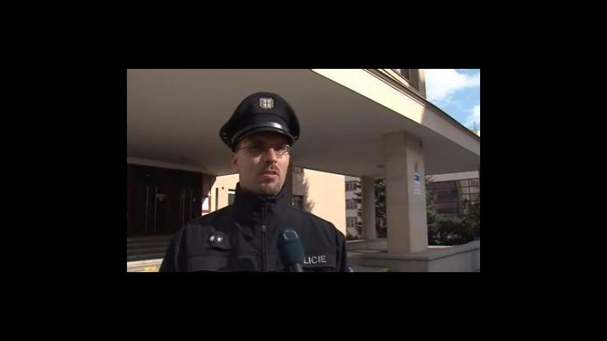 Video Policejní mluvčí Pavel Šváb k případu