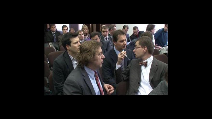 Video Reportáž Petra Malého - Události v regionech - vysílá studio Brno - 2.3.2010