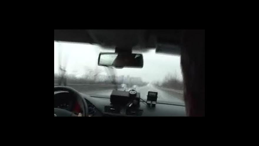 Video Záběry z policejního vozu
