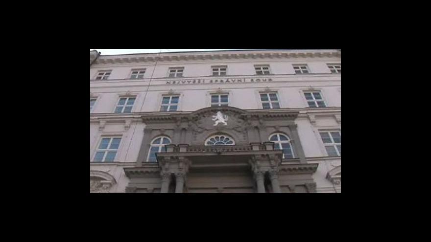 Video Marie Turková, soudkyně Nejvyššího správního soudu o zrušení verdiktu