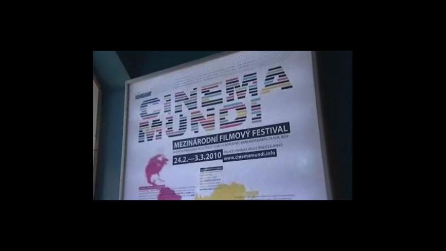 Video Reportáž ze startu festivalu Cinema Mundi