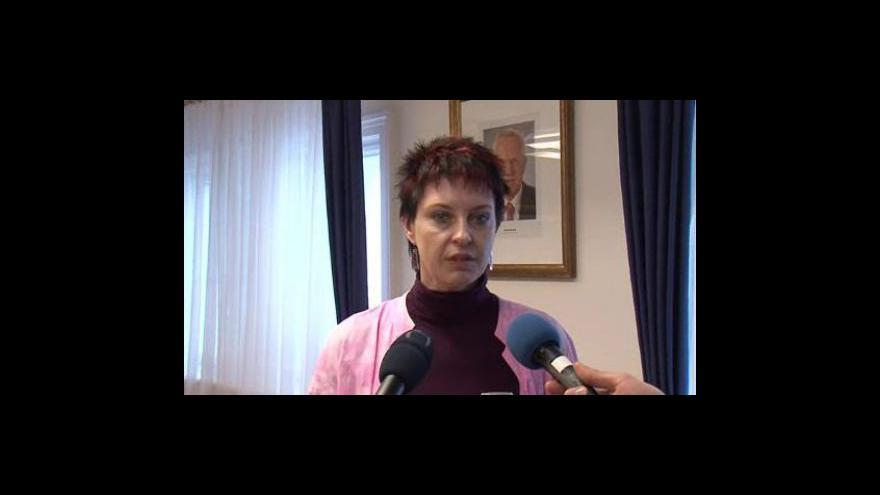 Video Milana Grauová (ODS) - starostka Hodonína