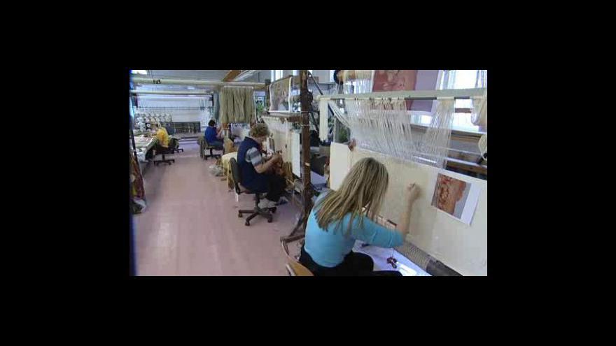 Video Výroba gobelínů ve Valašském Meziříčí