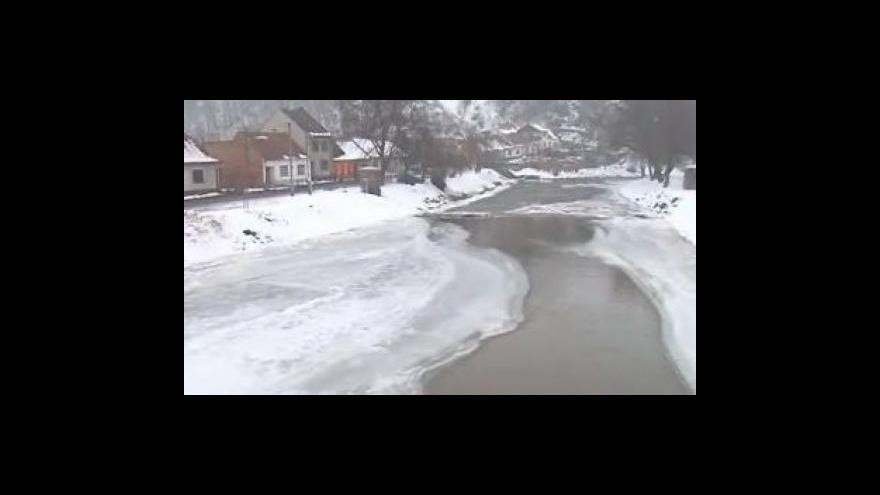 Video Místostarosta Oslavan Svatopluk Staněk (nez.) o hrozbě tání sněhu