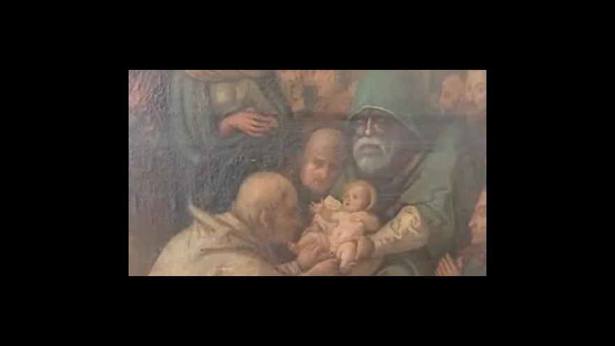Video S restaurováním vzácného obrazu pomohou studenti