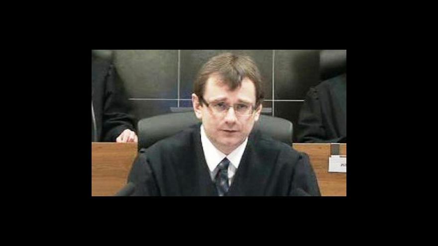 Video Vyhlášení rozsudku o zrušení DS