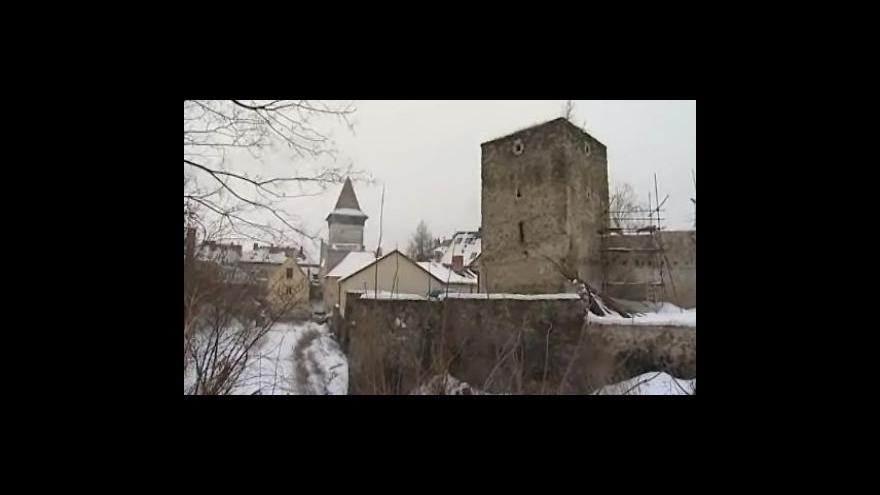 Video Oprava znojemských hradeb