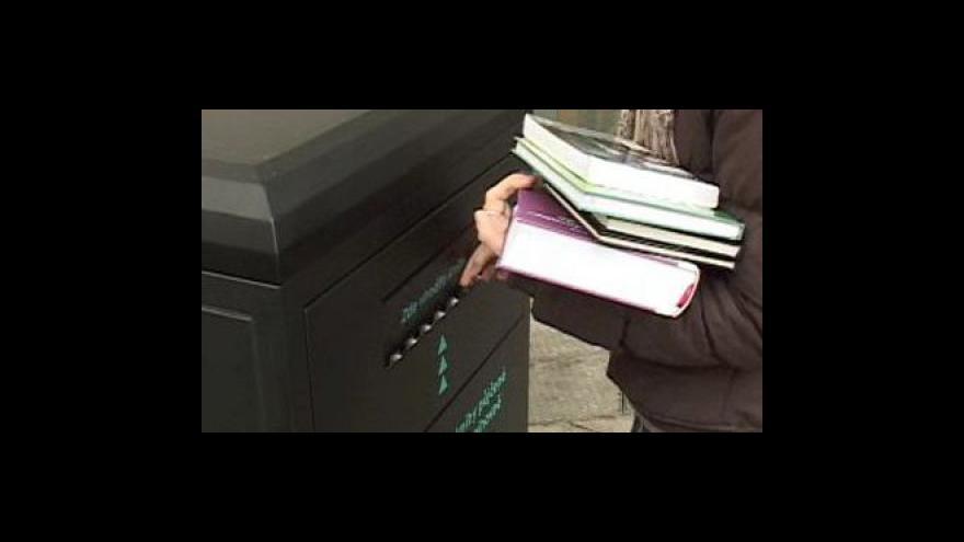 Video Nový bibliobox v Brně