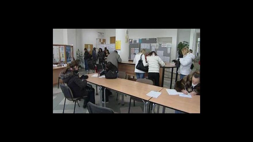 Video Ivana Ondráková o nezaměstnanosti v Brně