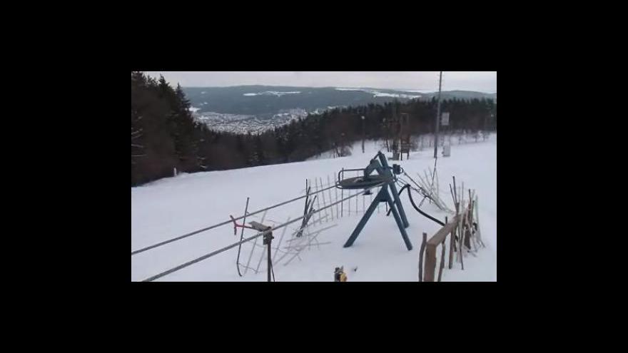 Video Lyžování v Blansku