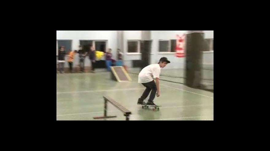 Video nová skateová hala v Brně