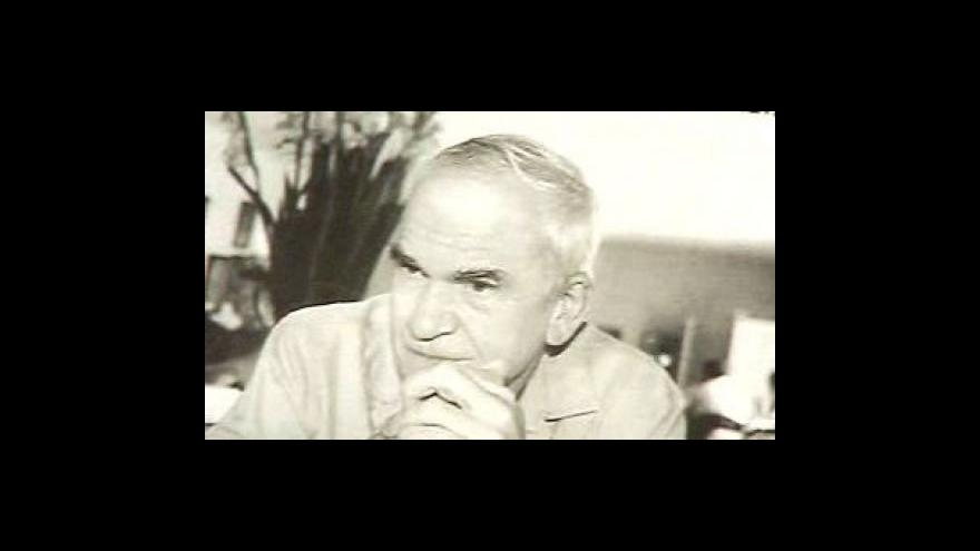Video Roman Onderka o čestném občanství pro Milana Kunderu