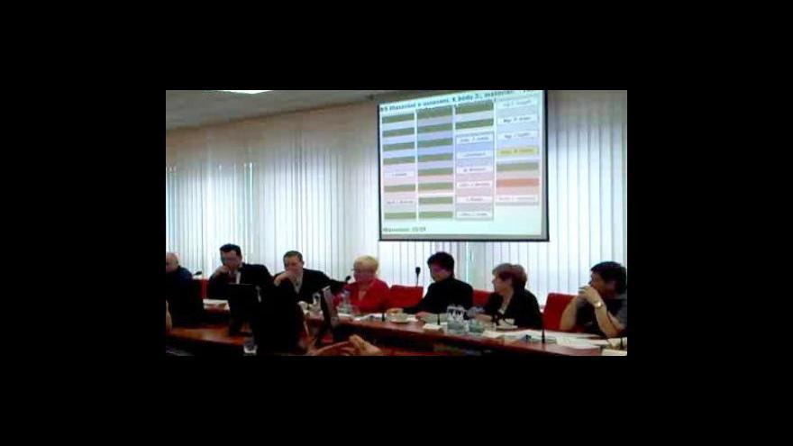 Video Volba nové starostky Hodonína - záběry z mobilního telefonu