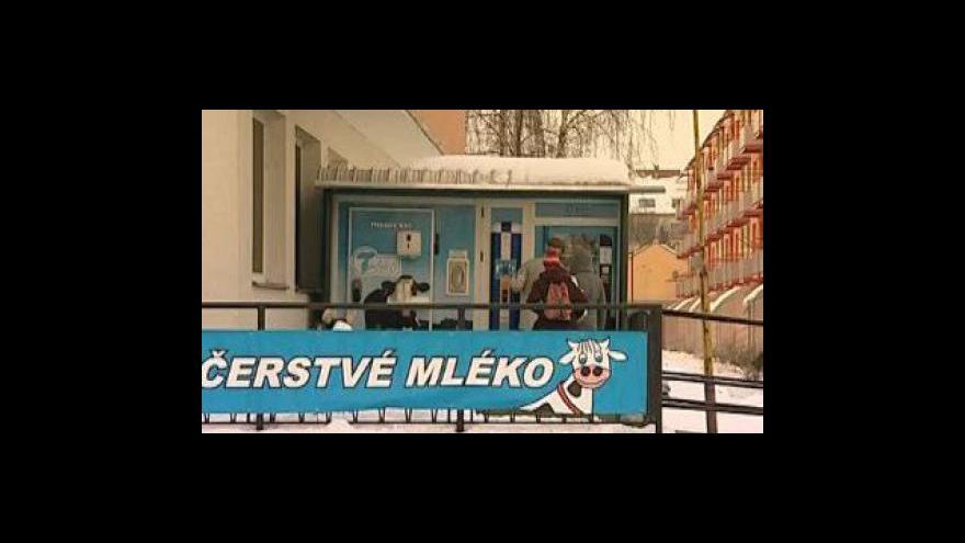 Video Auotmat na mléko ve Vyškově