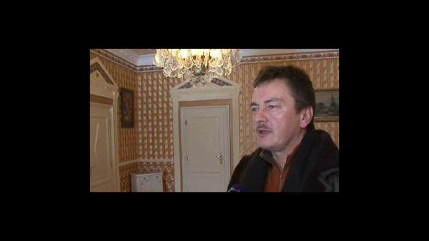 Video Bohumil Vavříček, majitel zámku v Letocicích